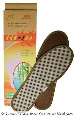 Стельки с турмалином бамбуковые